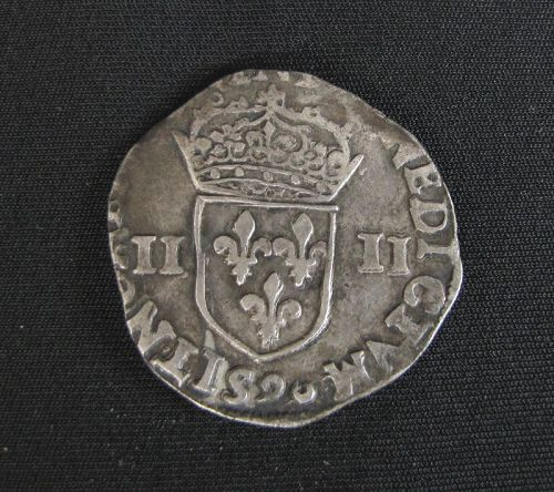 Henry the III 1/4 Ecu Silver Coin