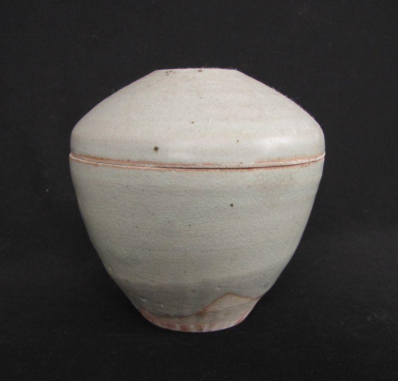 Annamese Pale Green Stoneware Jar