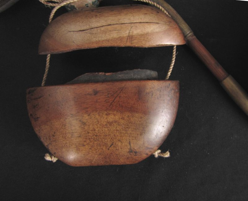Antique Japanese Tobacco Box and Pipe