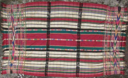 Burmese Woman's Blanket