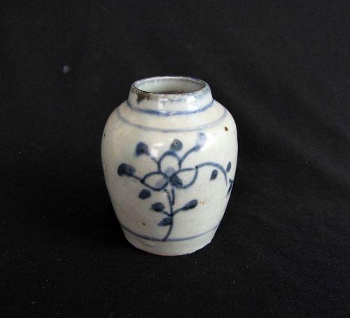 Qing Porcelain Jar