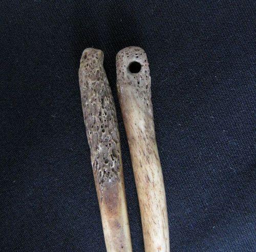 Akha Bone Hair Pins