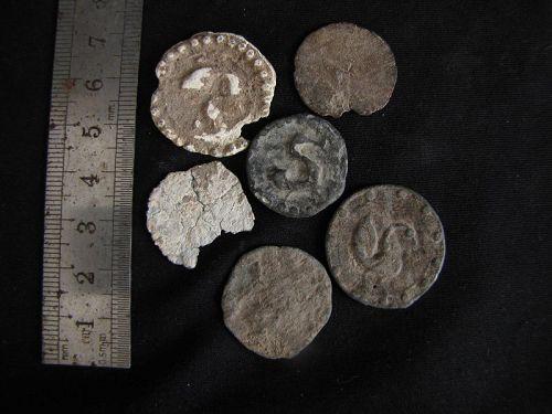 Mon Lead Coins