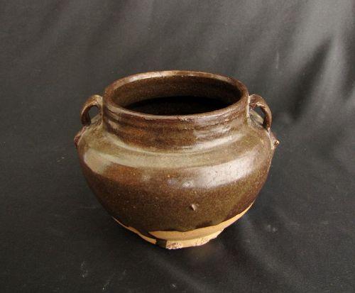 Song Soy Brown Glazed Jar