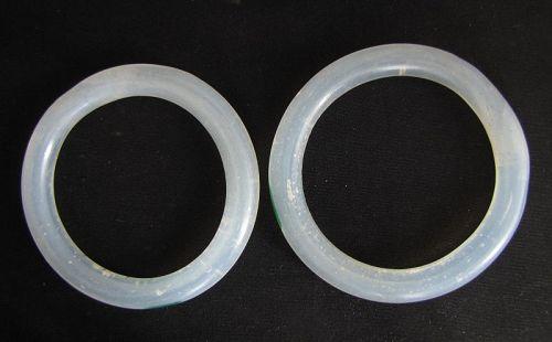 Qing Beijing Glass Bangles