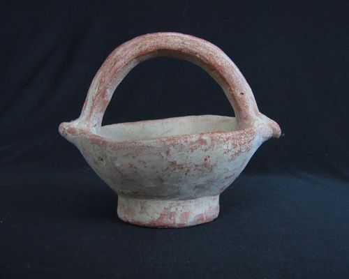Neolithic Bowl with Handle