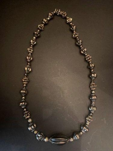 Old Sri Lanka Silver Beads