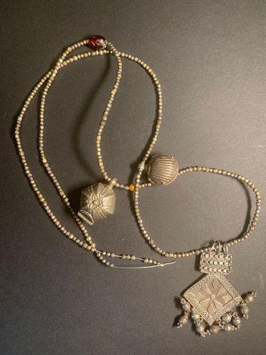 Old Sri Lankan Silver Necklace
