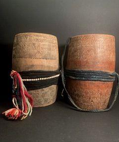 Akha Bamboo Cups