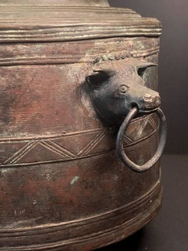 Sri Lanka Brass Trinket Box