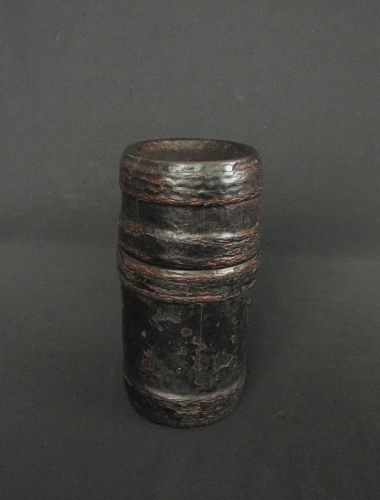 Northern Thai Bamboo Lacquered Box
