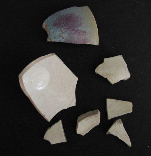 Song Ceramic Shards- Guan Yao Ding Yao