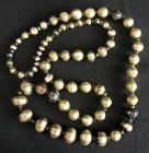 Antique Sri Lanka Silver Bead Necklace
