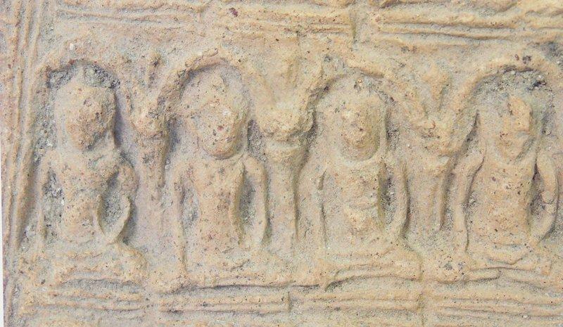 Haripunchai Buddhist votive plaque