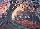 """Signed Original Acrylic Landscape Painting """"Flower Time"""" Tree Path"""