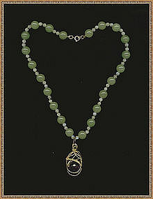 Necklace & Pendant Amethyst Moonstone Aventurine