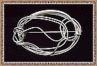 MIMI DEE Sterling Silver Signed Sculpture Pin Brooch