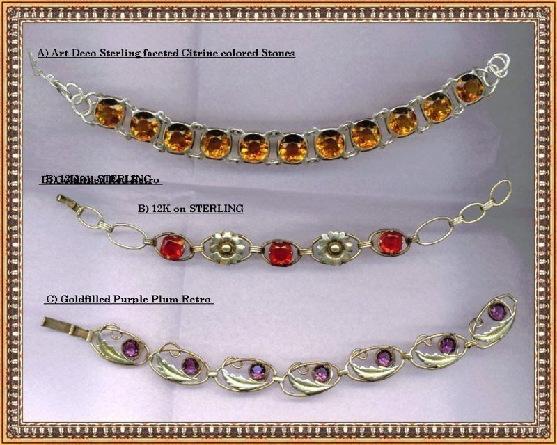 Estate Jewelry - Antique and Vintage Silver 8b9fd84caa6
