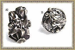 Vintage Sterling Art Deco Nouveau Arts Crafts Ring Lot