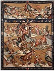 Antique Chinese Kesi Woven Pictorial Tapestry, 19th C