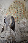 Antique Chinese Suzhou embroidered silk tapestry