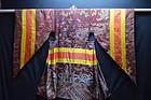 Antique Tibetan Monastic robe- Chinese brown silk