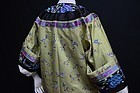 Antique Chinese embroidered silk robe -Manchu Changfu 2