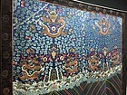 Antique Chinese Qing dragon robe tapestry- Large Embroidered silk,19th