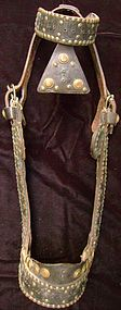 Mexican Bridle with Brass Tacks & Rivets