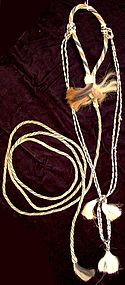 Horsehair Bridle with long Lead Rope
