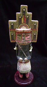 Hopi Polychrome Wood Hemis Kachina Doll