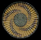 Hopi Polychrome Wicker Tray