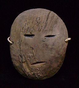 Thule-Period Eskimo Mask
