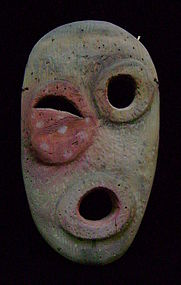 Lower Yukon Polychrome Wood Mask