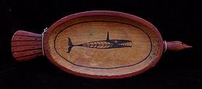 Inupiat Cedar Tray