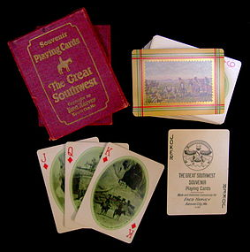 Fred Harvey Deck of Cards