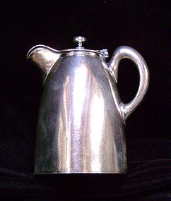Fred Harvey Silver Creamer with Lid