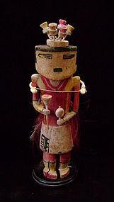 Hopi Lenang Flute Kachina