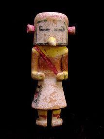 Hopi Hornet Kachina Doll - Tatangaya