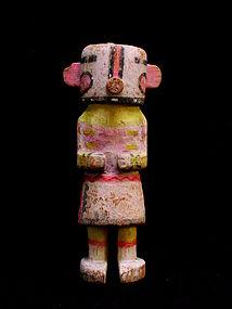 Hopi Wilson Tewaquaptewa Carved Wood Kachina Doll