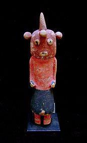 A Hopi Mudhead Kachina Doll