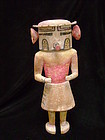 Hopi Polychrome Wood Rügan Kachina Doll