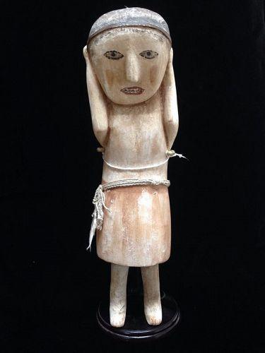 A Rare Zia Pueblo Secular Carving