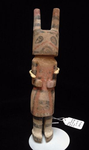 A Hopi Rare Hano Style Clown Possibly by Wilson Tewaquotewa