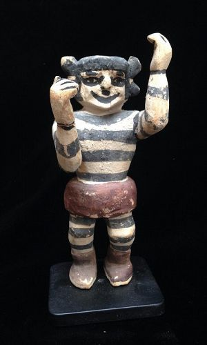 A Hopi Clown by the carver Jimmie Koots