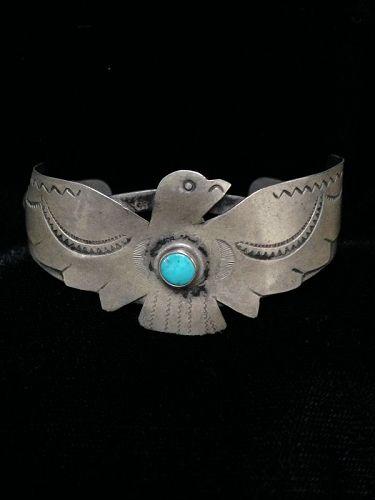 "Navajo ""Fred Harvey"" Style Bracelet"
