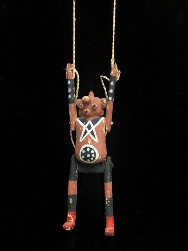 Hopi Koyemsi (The Mud head) Puppet