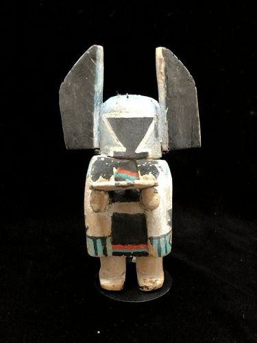 Hopi Wood Polychrome Crow Mother Katsina