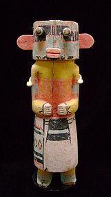 Hopi Sikyachantaka Kachina Doll, c. 1920