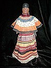 Rare Wood Seminole Doll